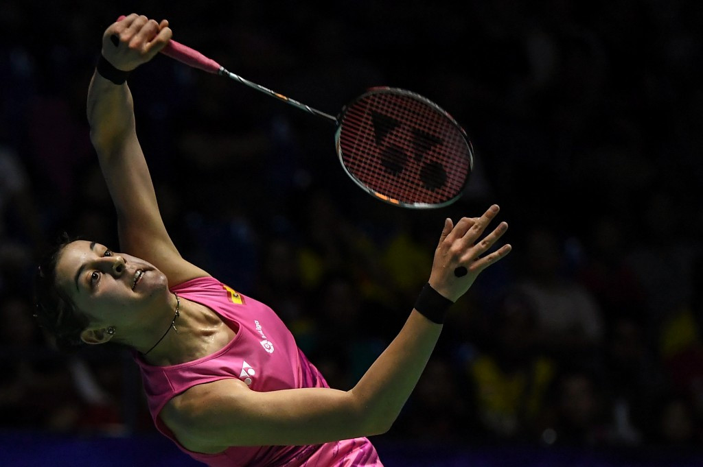 Olympic champion and top seed progress in women's draw at BWF Singapore Super Series