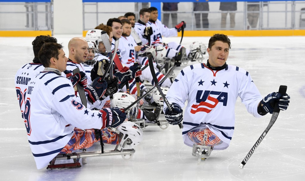United States open World Para Ice Hockey Championships title defence with convincing win