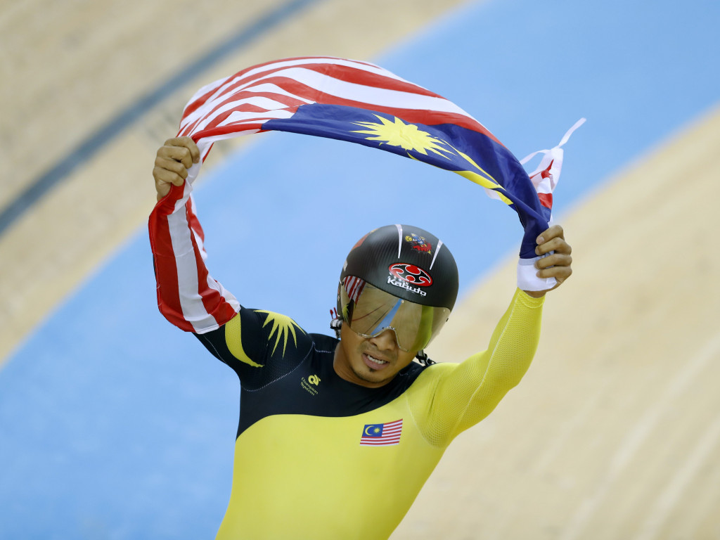 Mohd Azizulhasni Awang has today claimed Malaysia's first-ever gold medal at the UCI Track World Championships ©Getty Images