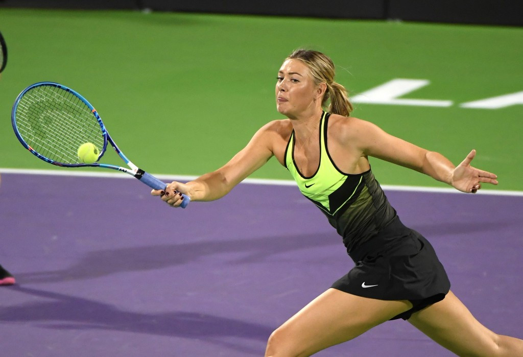 Sharapova blames ITF for doping ban