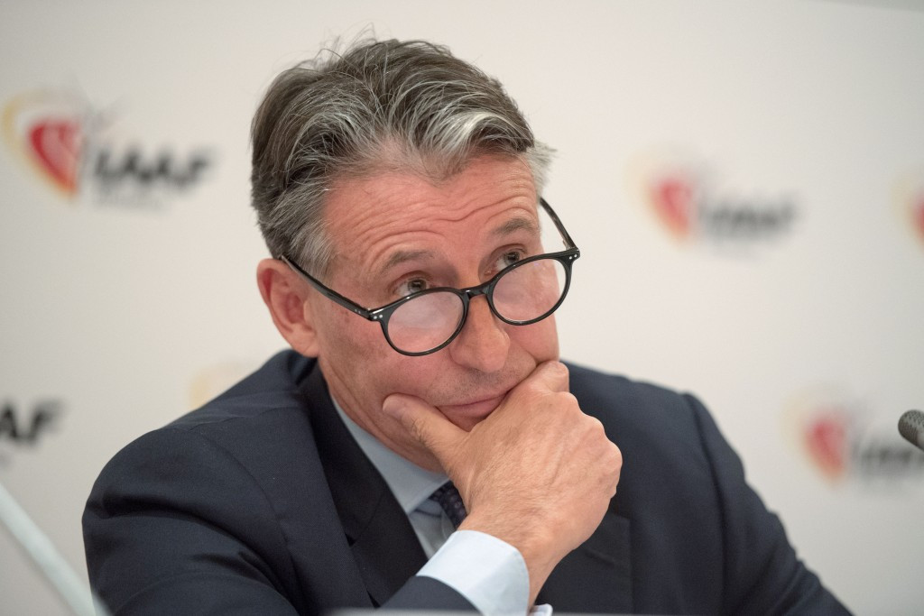 IAAF President Sebastian Coe expressed his regret in London today that Russia has failed to make more progress towards satisfying several criteria for reinstatement following its doping ban ©Getty Images