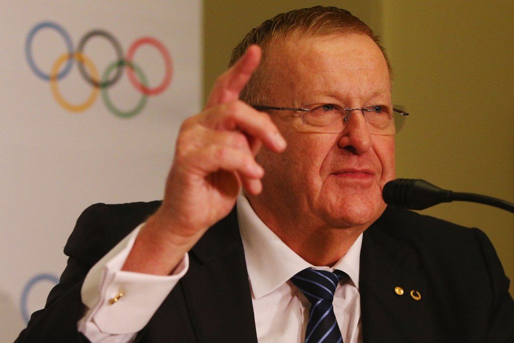 Australian Olympic Committee President John Coates has admitted subjecting Australian Sports Commission chairman John Wylie to an expletive rant ©Getty Images