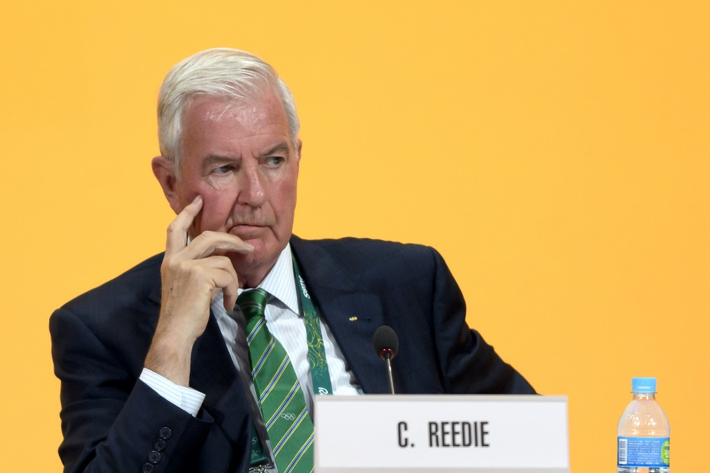 Sir Craig Reedie was criticised at the ANOC General Assembly in November for the timing of the announcement concerning the Doha Laboratory ©Getty Images