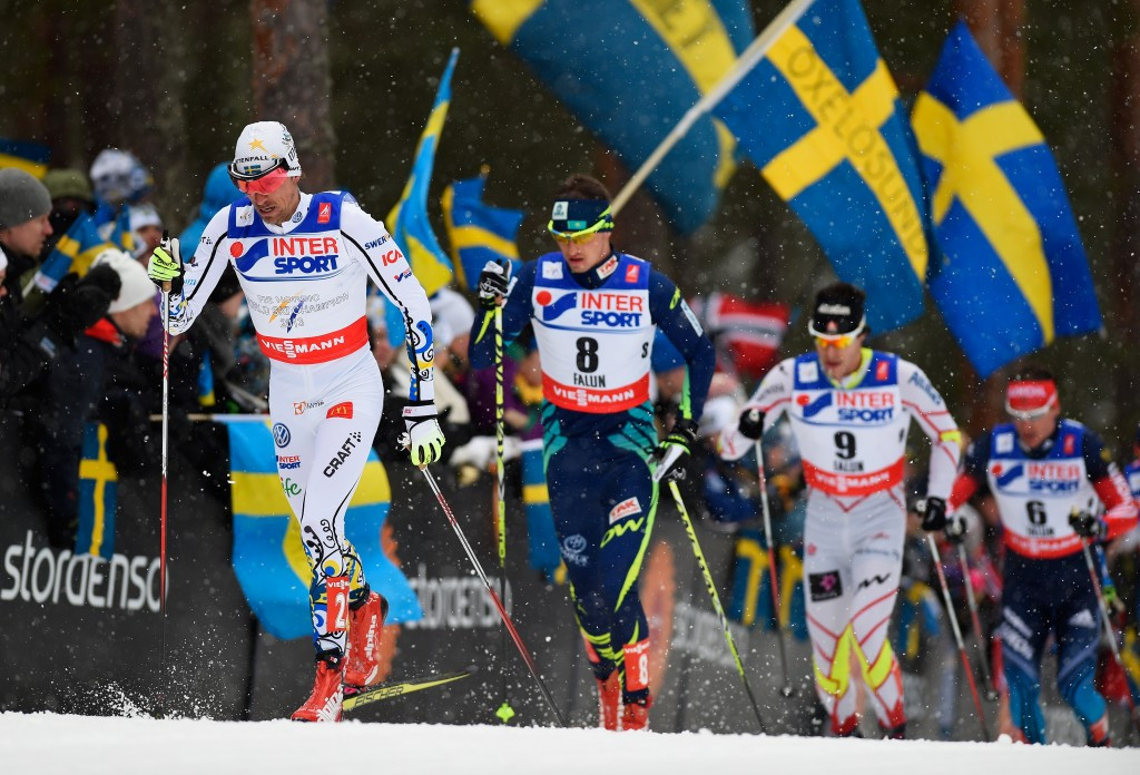 Johan Olsson, left, admitted he did not have the motivation to continue his career ©Getty Images