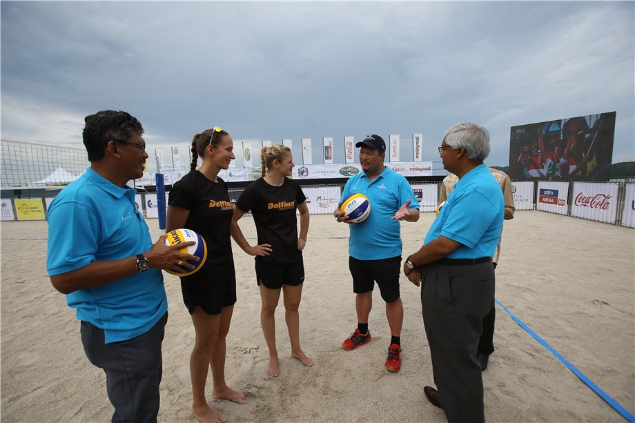 Malaysia braced to host first-ever FIVB Beach World Tour event in Langkawi