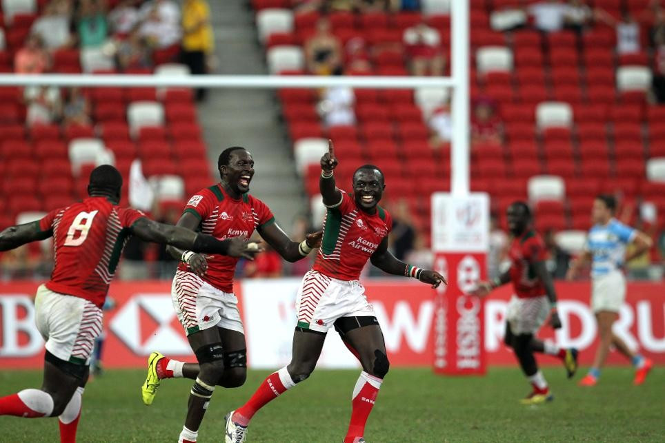 Kenya to return to scene of historic triumph at Singapore Sevens