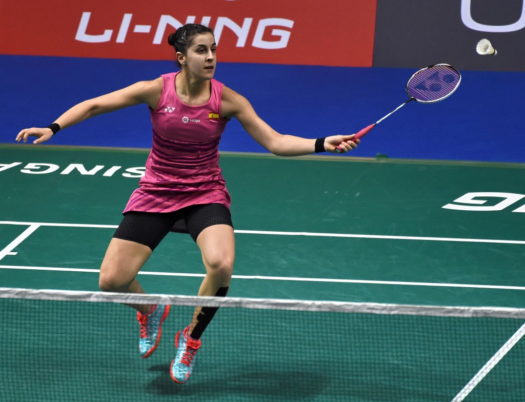 Marin wins Rio 2016 final repeat to reach BWF Singapore Super Series semi-finals