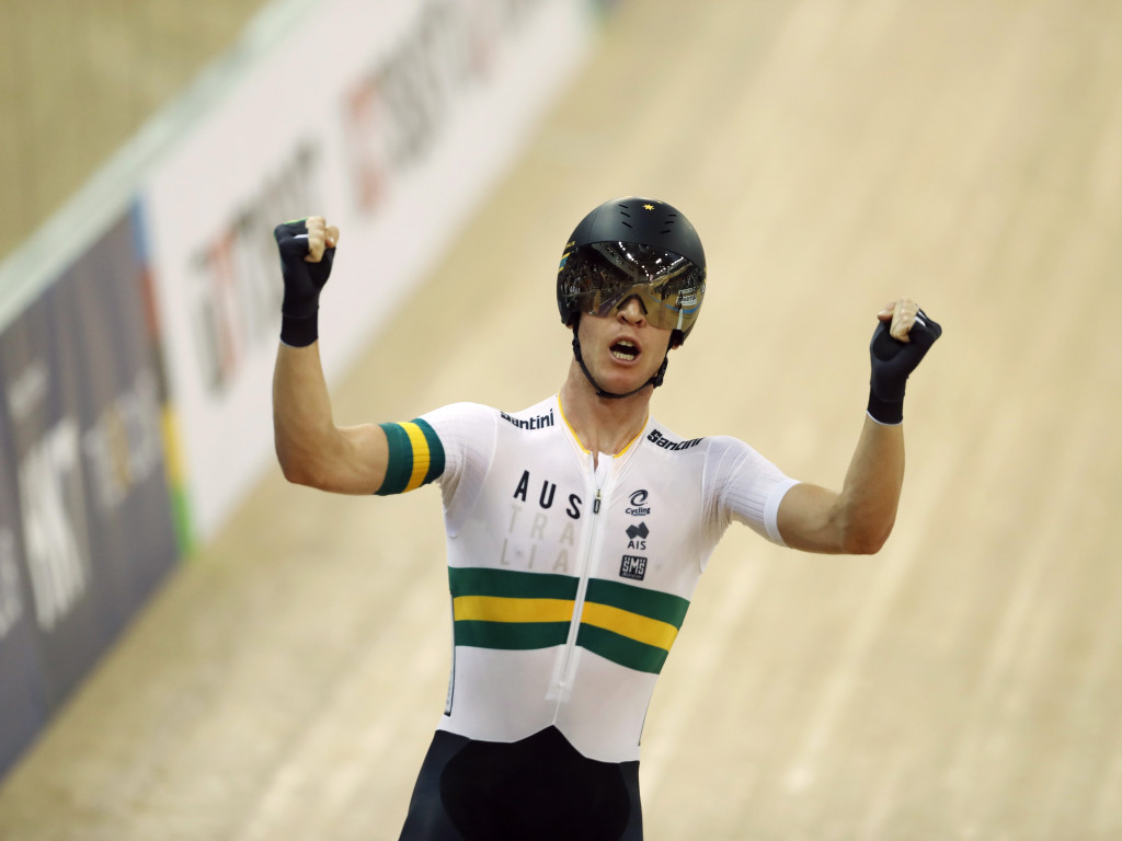 Double gold for Australia on day three of UCI Track World Championships