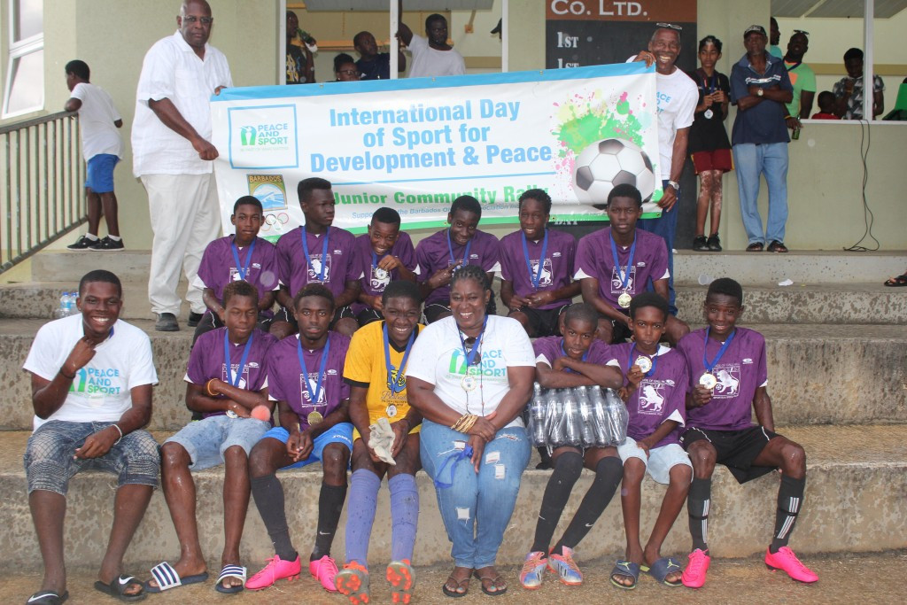 Barbados Olympic Association hold multi-sport youth rally