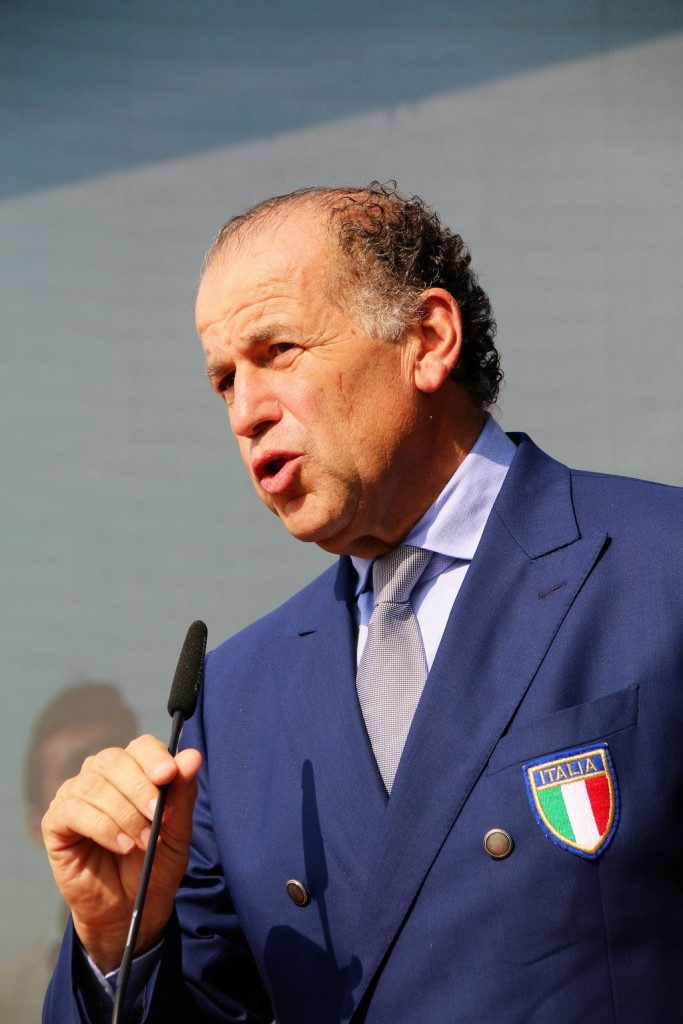 """ISSF vice-president Luciano Rossi has been accused by the worldwide governing body of making a series of """"false accusations"""" ©ESC"""