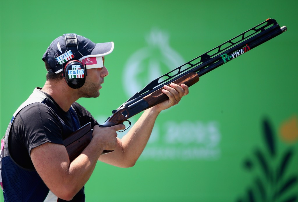 The men's double trap is one event to be converted into a mixed team competition ©Getty Images