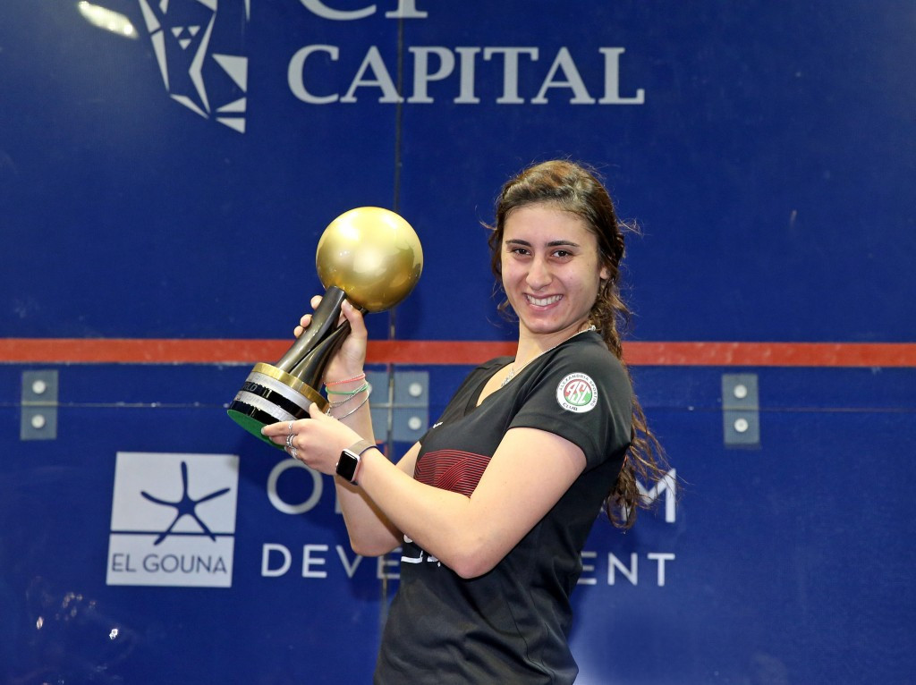 El Sherbini wins all-Egyptian final to retain PSA Women's World Championship crown
