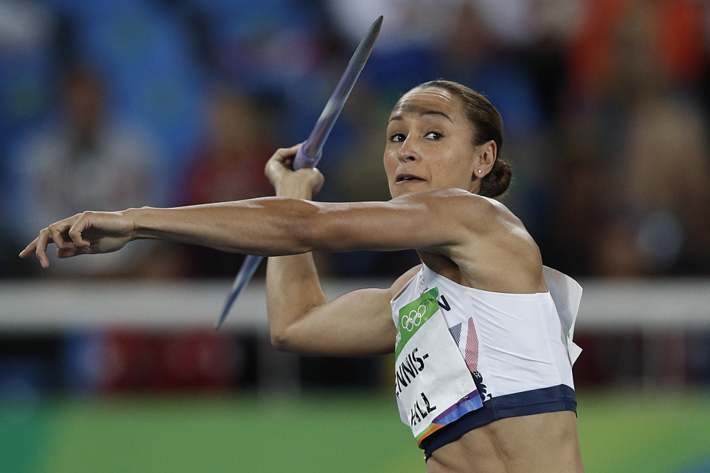 Jessica Ennis-Hill is poised to receive a third global heptathlon crown having been upgraded from silver at the 2011 World Championships in South Korean city Daegu ©Getty Images