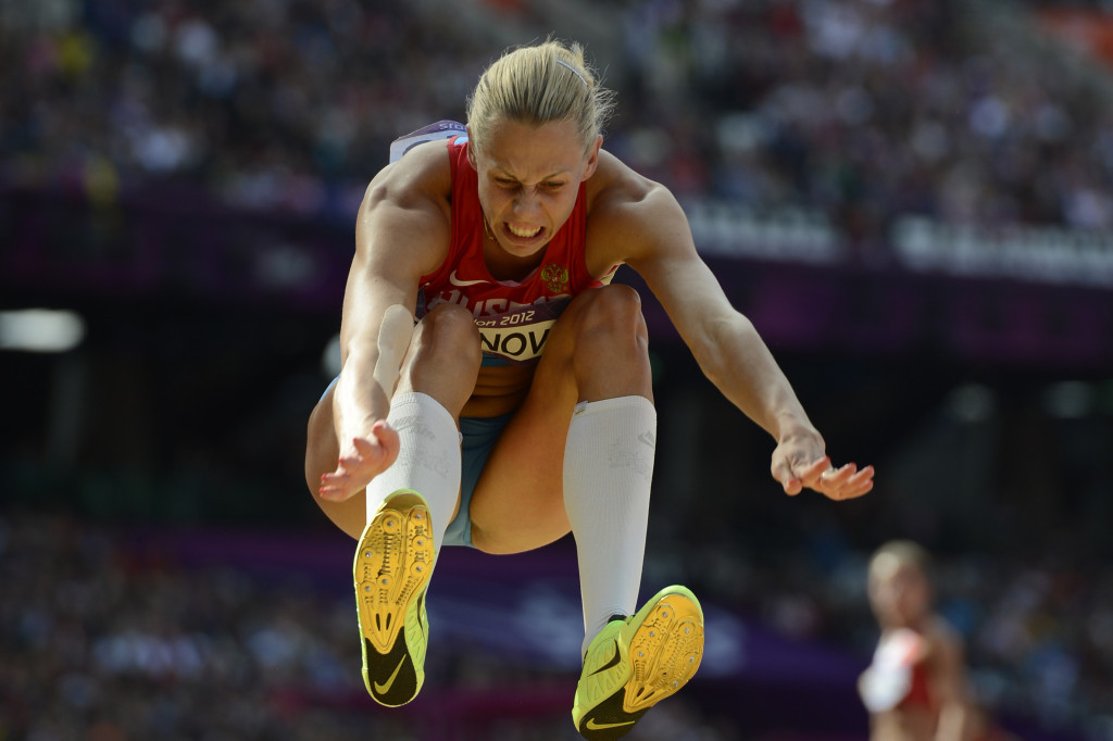 Russia's Tatyana Chernova was stripped of her 2011 world heptathlon title following a CAS ruling in November ©Getty Images
