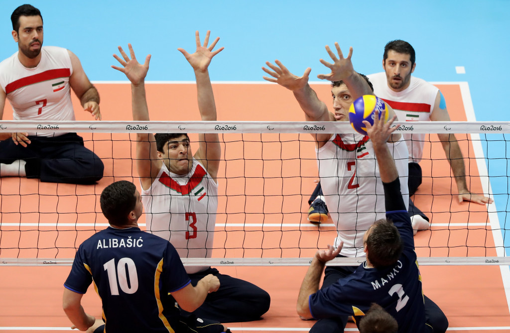 Bosnia and Herzegovina finished runners-up to Iran in the men's sitting volleyball competition at the Rio 2016 Paralympic Games ©Getty Images