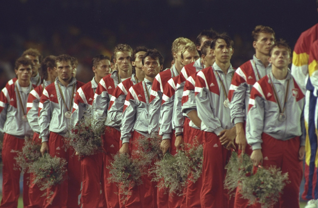 Poland won 19 medals at the Barcelona 1992 Olympic Games, including silver in men's football ©Getty Images