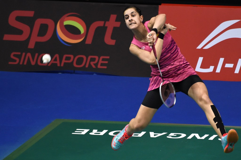 Marin and Tai to clash for women's singles title at BWF Singapore Super Series