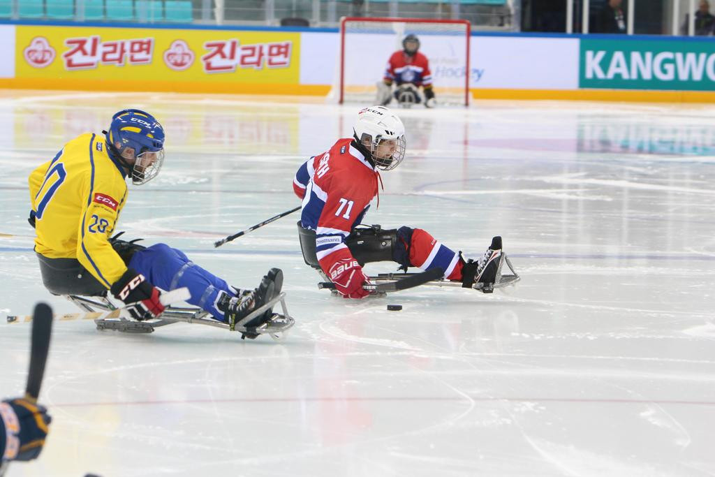 Norway beat Sweden 6-1 today ©POCOG