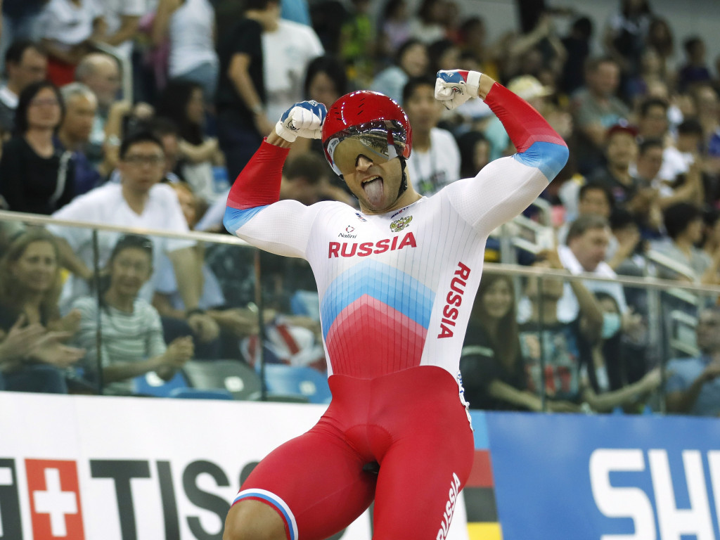 Dmitriev and Shmeleva lead Russian charge at UCI Track World Championships
