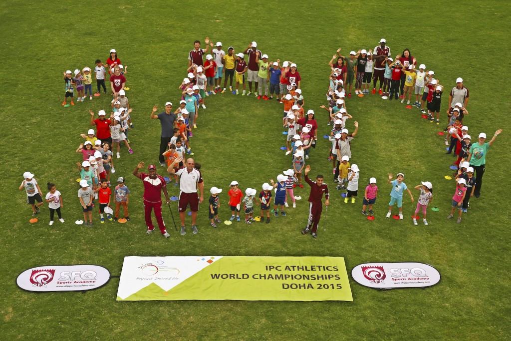 Doha celebrates 100 days until start of IPC Athletics World Championships