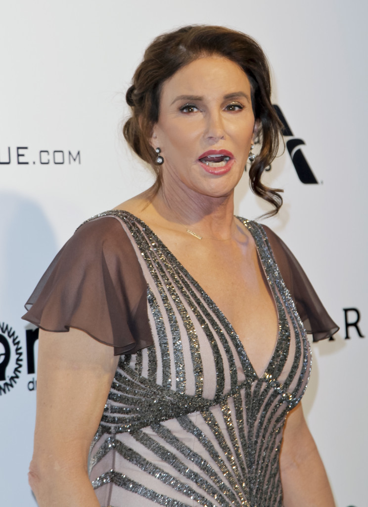 Caitlyn Jenner pictured at a celebrity event in February this year ©Getty Images