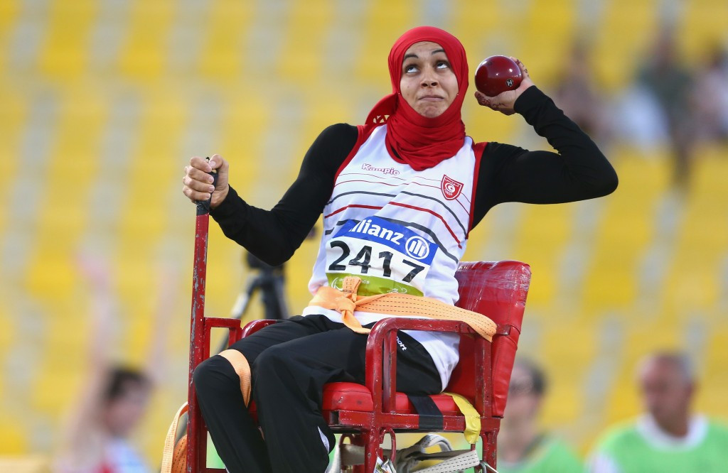 Ibrahmi leads Tunisian charge on final day of World Para Athletics Grand Prix