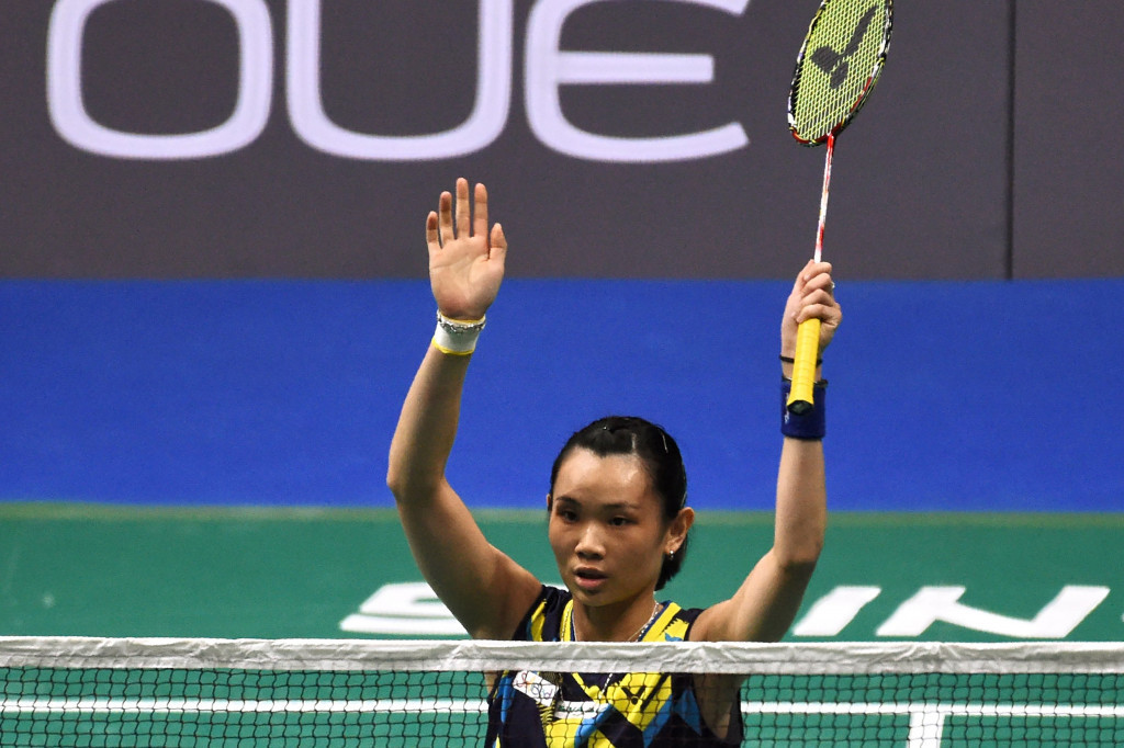 Five for Tai as world number one wins BWF Singapore Open again