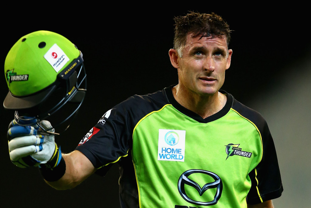 Mike Hussey of Australia is one of the eight champion ambassadors for the tournament ©Getty Images