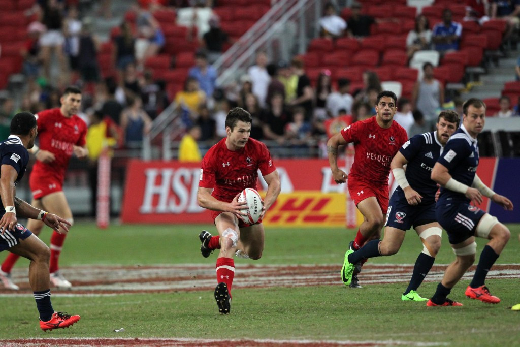 Canada held off a United States' fightback to secure victory ©World Rugby