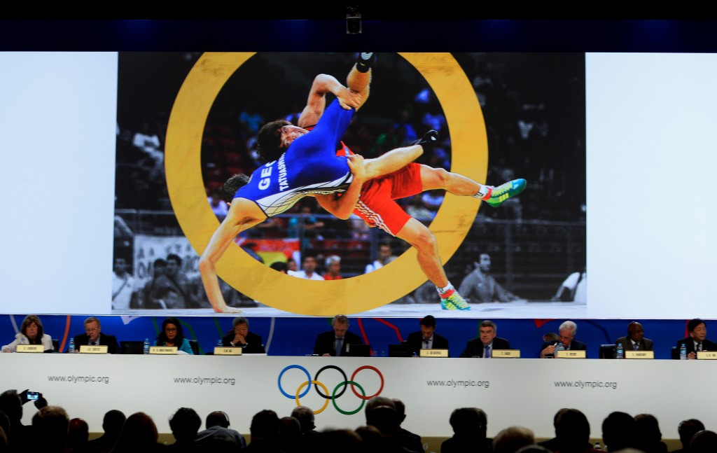 Wrestling massively improved its political lobbying game before the Buenos Aires IOC Session where the sport was returned to the Olympic programme ©Getty Images