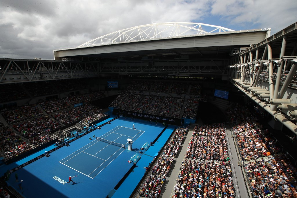 Hisense have also been one of the sponsors for the Australian Open and has naming rights for the Melbourne Multi Purpose Venue ©Getty Images