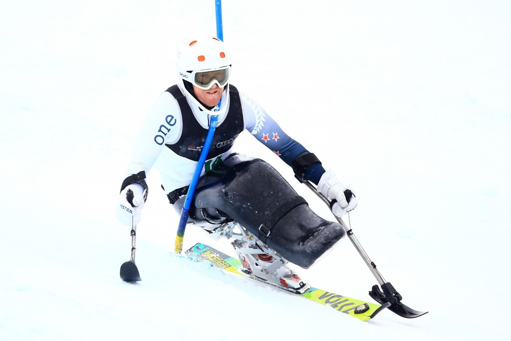 New Zealand skiing star Peters confident of Pyeongchang Paralympic gold