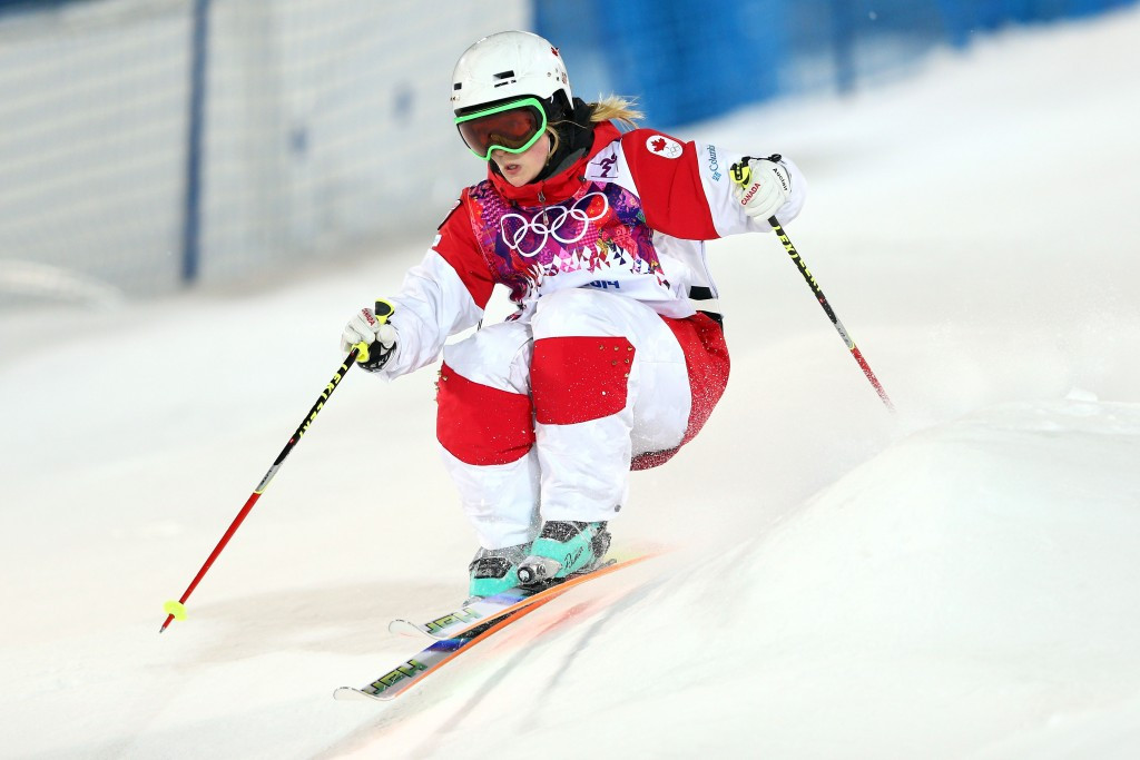 Justine Dufour-Lapointe won a gold medal at the Sochi 2014 Winter Olympics in the moguls event ©Getty Images