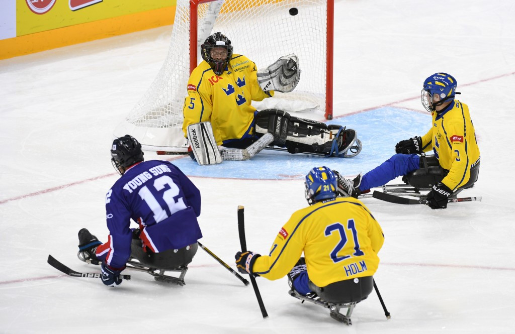 South Korea enjoyed a convincing victory over Sweden ©POGOC
