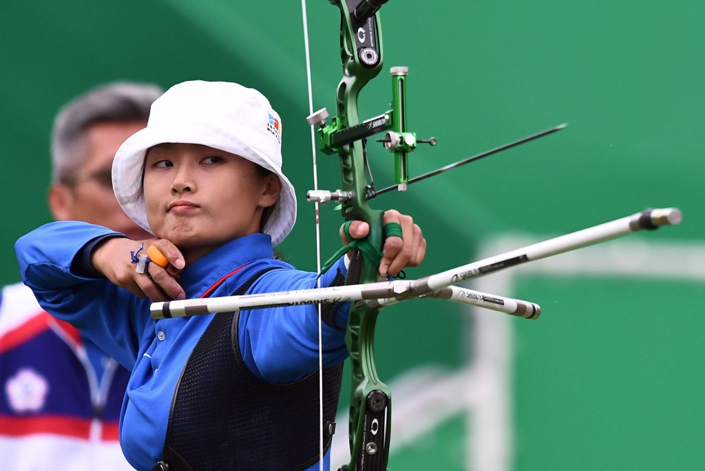 Chinese Taipei's Lin Shih-chia was among those in action in Bangkok ©Getty Images
