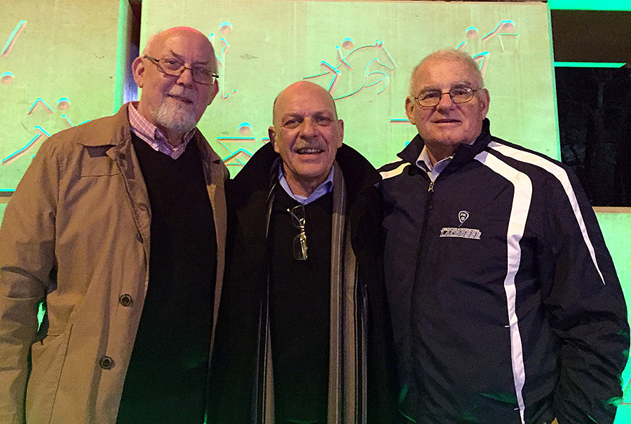 The new programme is named after FIL Board members Ron Balls, Stan Cockerton and Tom Hayes ©FIL