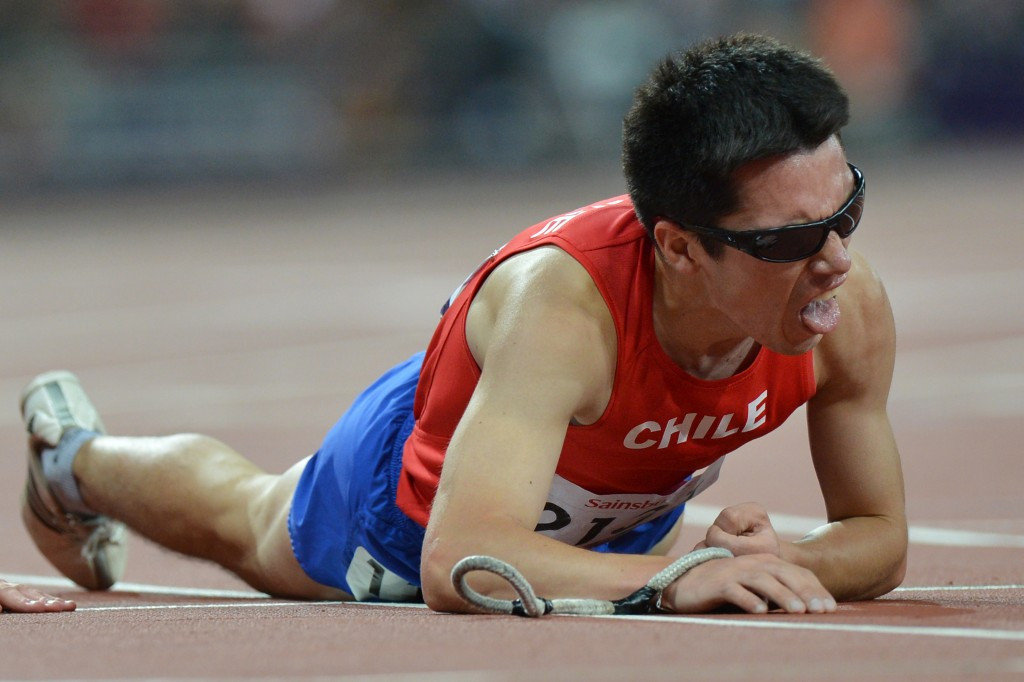Cristian Valenzuela won Paralympic gold for Chile at London 2012 ©Getty Images