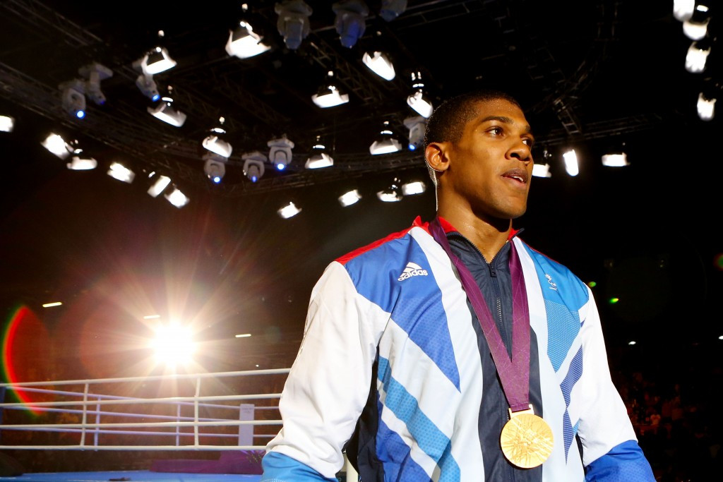 London 2012 champion Anthony Joshua is facing his toughest test to date ©Getty Images