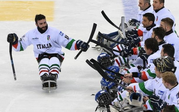 Italy stun South Korea in penalty shoot-out at World Para Ice Hockey Championships