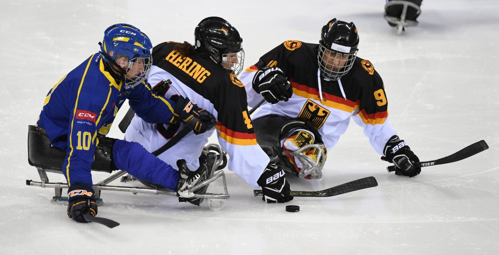 Sweden picked up their first win in Gangneung with a 2-0 victory over Germany ©IPC/Flickr