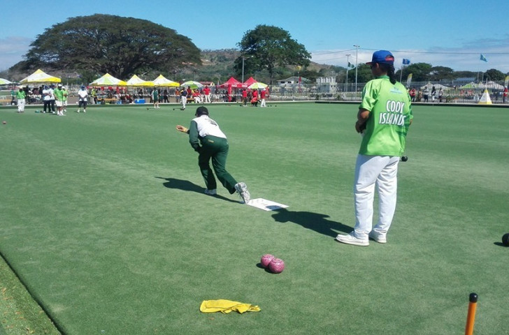 The lawn bowls competition continued at the Bisini Sports Grounds today ©Justin Tkatchenko/Facebook