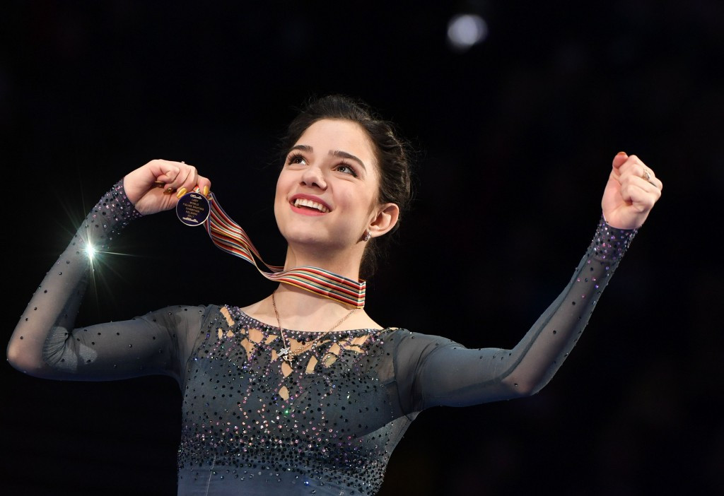 World champion Evgenia Medvedeva will compete for Russia ©Getty Images