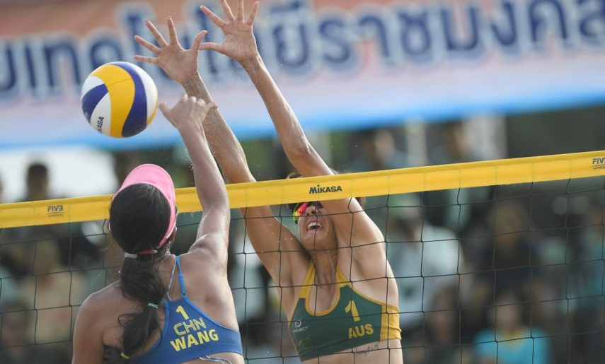 Australian duo triumph at Asian Beach Volleyball Championships