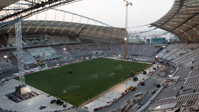 Qatar 2022 expecting first venue to be completed next month