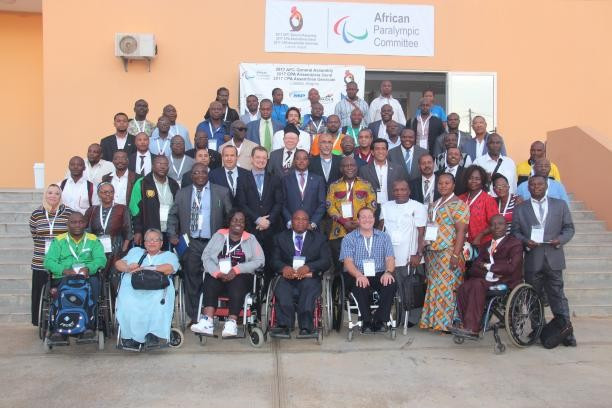 The African Paralympic Committee gathered in Luanda ©APC