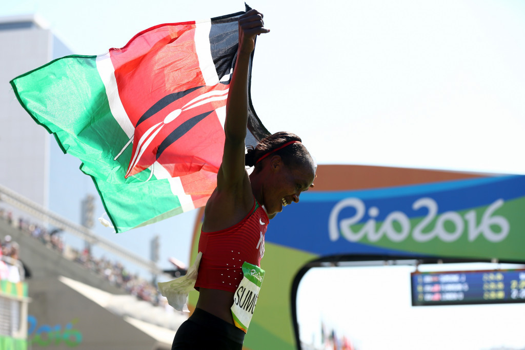 Kenyan runners claim they are embarrassed over Sumgong positive drugs test