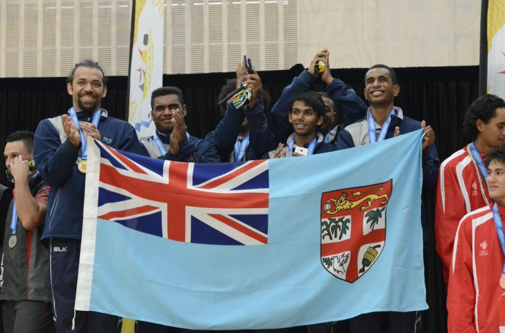 Fiji won four gold medals as the karate competition came to a close ©Port Moresby 2015