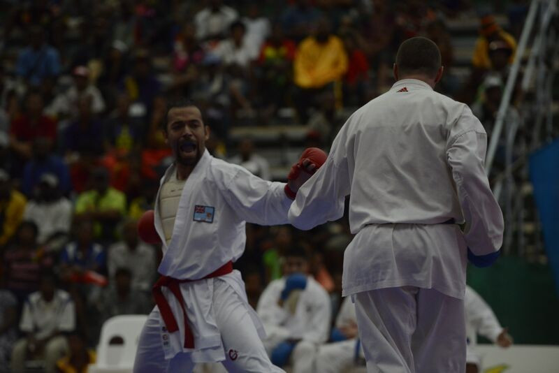 The second and final day of karate at Port Moresby 2015 produced a dominant display from the Fijian karatekas