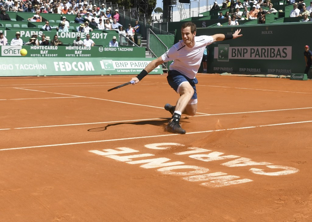 World number one Murray returns from injury with Monte Carlo win