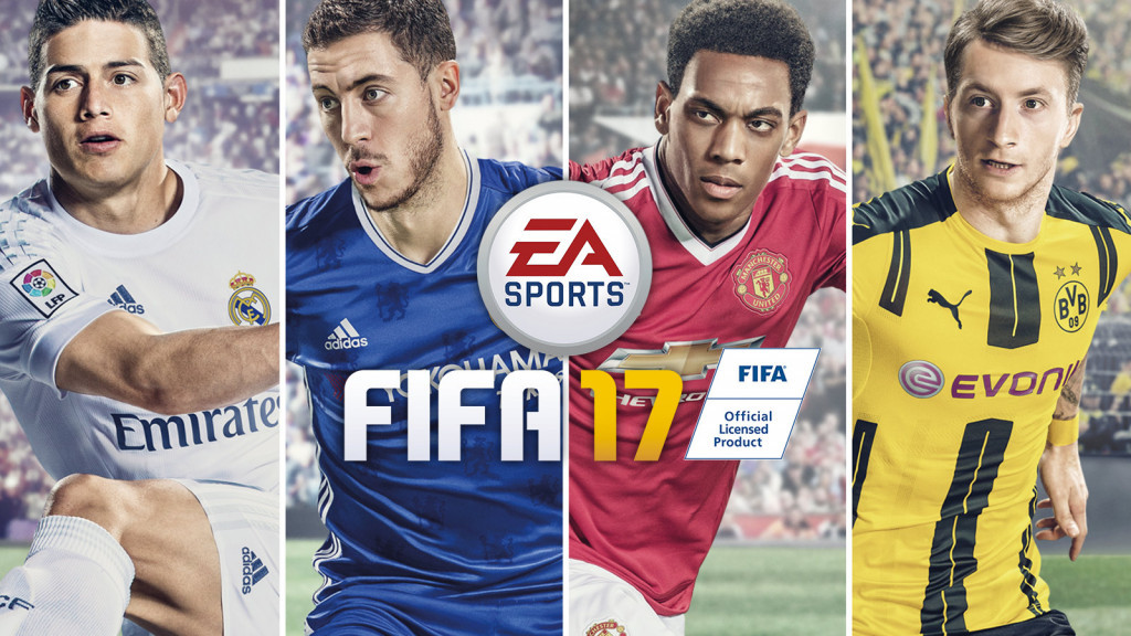 Could competitors one day win an Olympic gold medal for playing FIFA 17? ©EA Sports